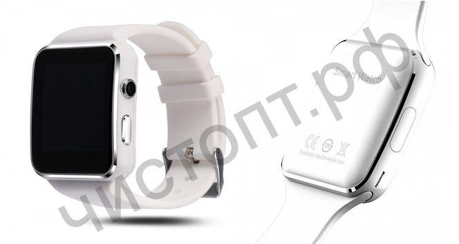 Smart часы (умные часы ) OT-SMG12 Белые ( GSM SIM, microSD ) телефон, GPS, Bluetooth Андроид музыка камера фото видео голос. связь телеф.номер смс шагомер датчик сна приложения