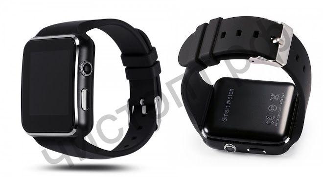 Smart часы (умные часы ) OT-SMG12 Черные ( GSM SIM, microSD ) телефон, GPS, Bluetooth Андроид музыка камера фото видео голос. связь телеф.номер смс шагомер датчик сна  приложения