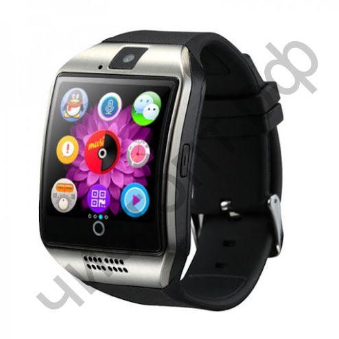 Smart часы (умные часы ) OT-SMG13 Серебро ( GSM SIM, microSD ) телефон, GPS, Bluetooth Андроид музыка камера фото видео голос. связь телеф.номер смс шагомер датчик сна  приложения