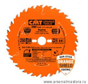 CMT 271.184.24M   Диск пильный ультратонкий 184x30x1,7/1,1 20гр 10гр ATB плюс 8гр SHEAR Z24