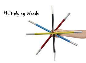 Multiplying Wands Палочки для манипуляций разных цветов (поштучно)