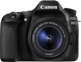 Canon EOS 80D Kit 18-55mm IS II