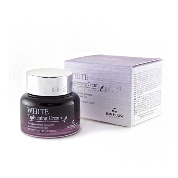 The Skin House White Tightening Cream - Стягивающий поры осветляющий крем