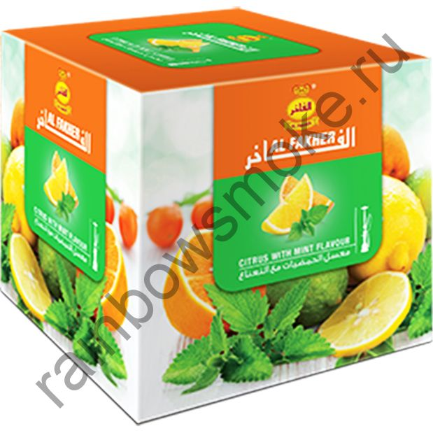 Al Fakher 1 кг - Citrus with Mint (Цитрус с мятой)