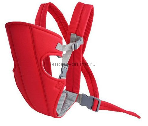 Кенгуру-рюкзак Hipseat - красный