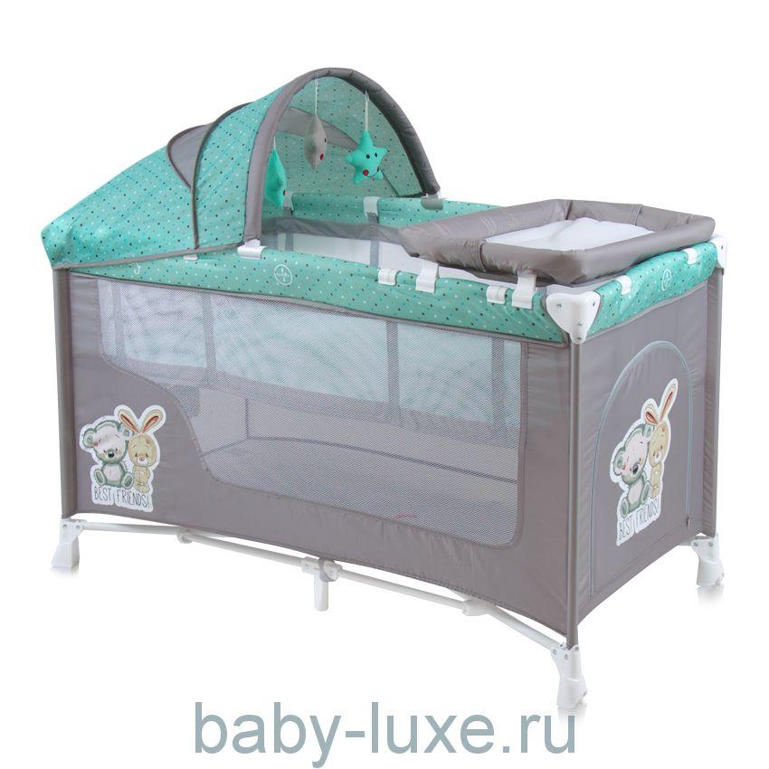 Манеж-кровать Lorelli Nanny 2 Plus