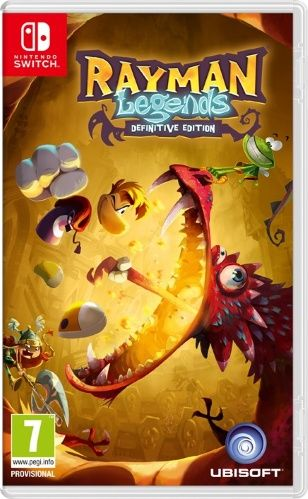 Игра Rayman Legends Definitive Edition (Nintendo Switch)