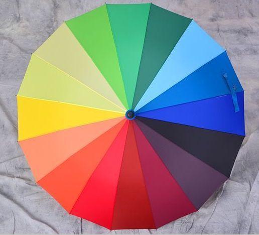 Зонт - трость Радуга