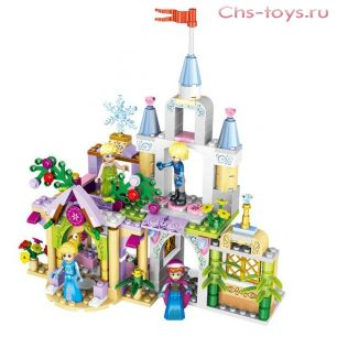 Конструктор LELE Happy Princess 37020 (Аналог LEGO Disney Princesses) 4 шт.
