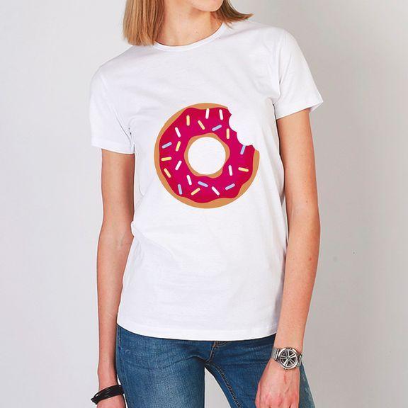 Пончик футболка женская