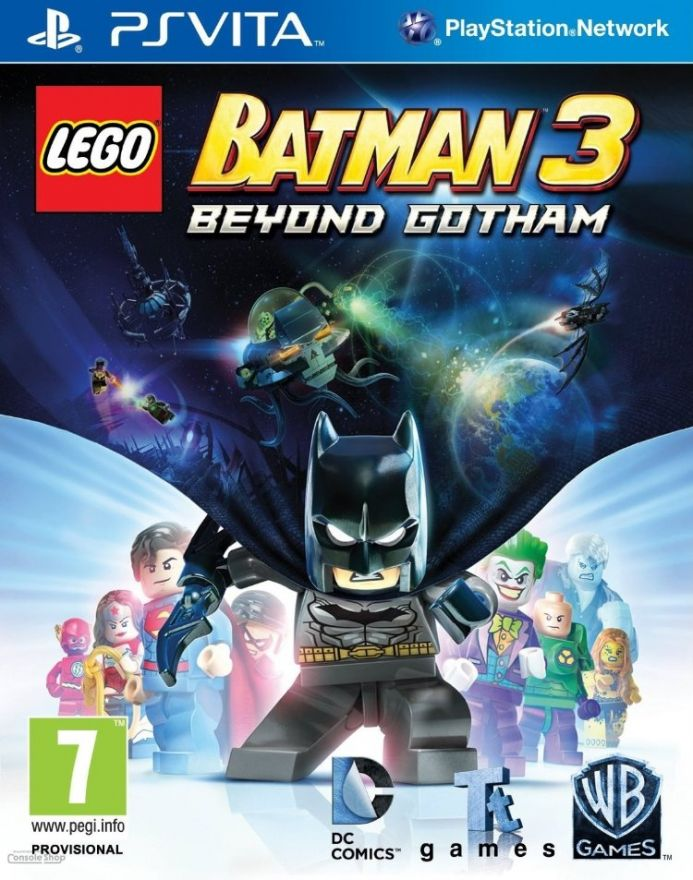 Игра Lego Batman 3 (PS VITA)