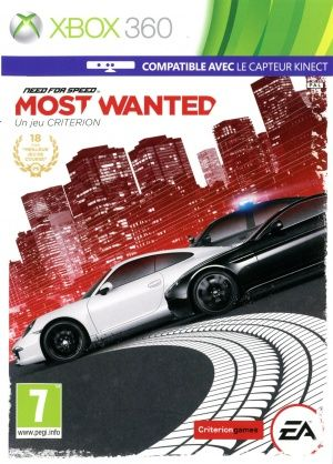 Игра Need for Speed Most Wanted (Xbox 360)