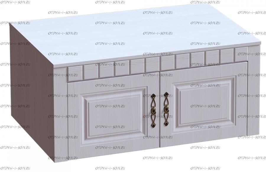Антресоль 2-дверная Прованс 107х59х48