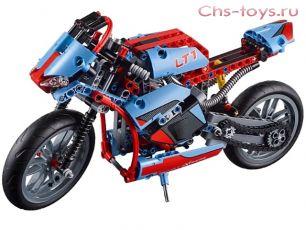 Конструктор PRCK Техника Спортбайк 38020 (42036) 375 дет.