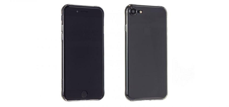 Чехол Hoco Light для iPhone 7 черно-прозрачный
