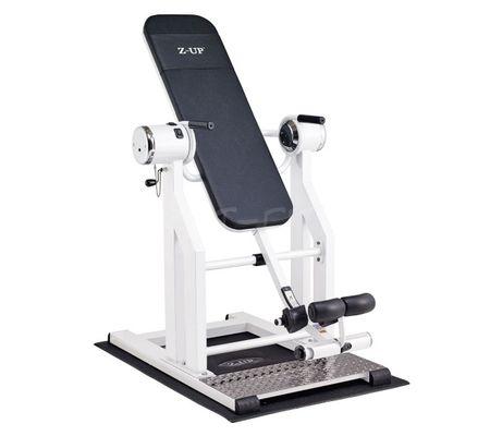 Z-UP 2S инверсионный стол, белая рама, черная спинка