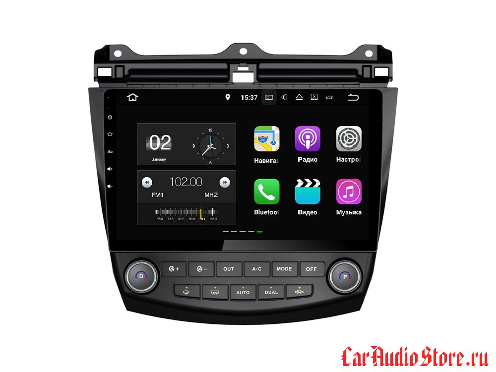 FarCar s130+ для Honda Accord 7 (2008-2012) на Android (W809)