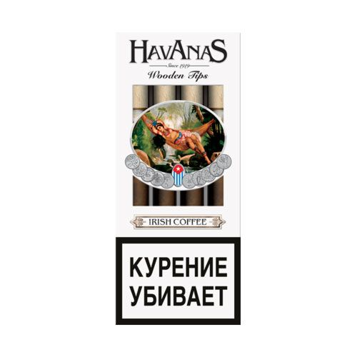 Сигариллы Havanas Irish Coffee  (4)