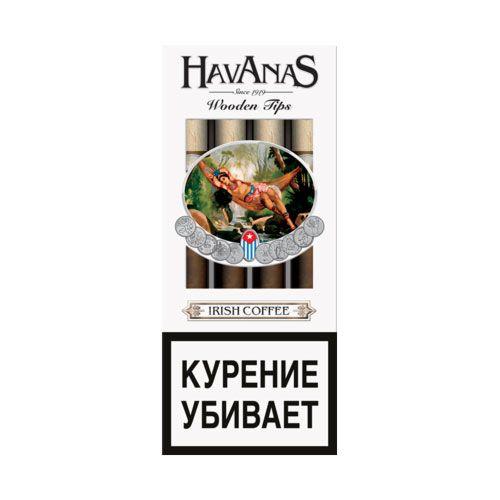 Сигариллы Havanas Irish Coffee  4 шт.