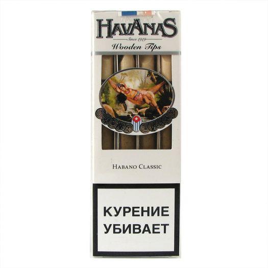 Сигариллы Havanas Habano Classic 4 шт.