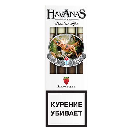 Сигариллы Havanas Strawberry 4 шт.