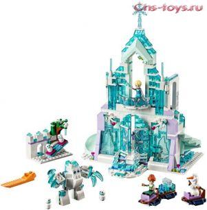 Конструктор LELE Happy Princess Волшебный ледяной замок Эльзы 37016 (Аналог LEGO Disney Princesses 41148) 711 дет.