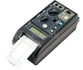 HIOKI 8206-10 - бумажный самописец тока и напряжения (2 канала)