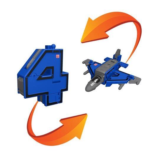 4 Трансбот истребитель или цифра четыре