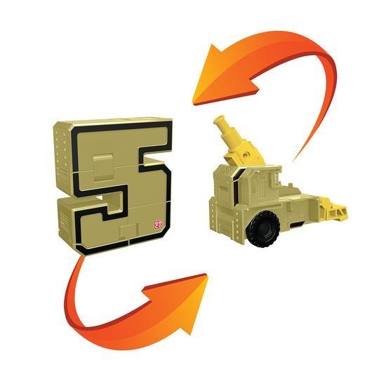 5 Трансбот пушка или цифра пять