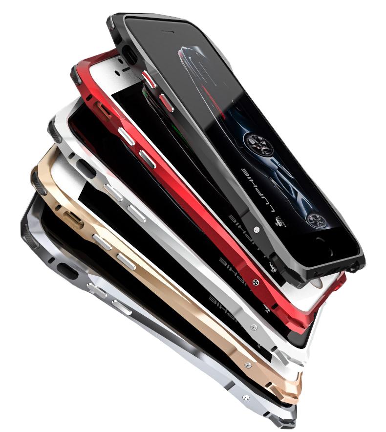 Металлический чехол-бампер LUPHIE для iPhone6/6s и iPhone7 SPORTS-CAR
