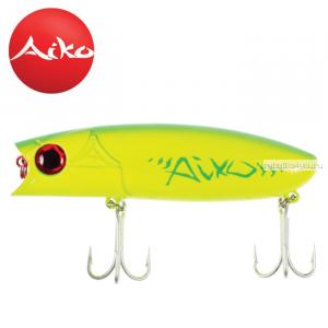 Воблер Aiko Muller 100F 100 мм / 28 гр / Заглубление: 0-0,1 м / цвет: AIKOgreen