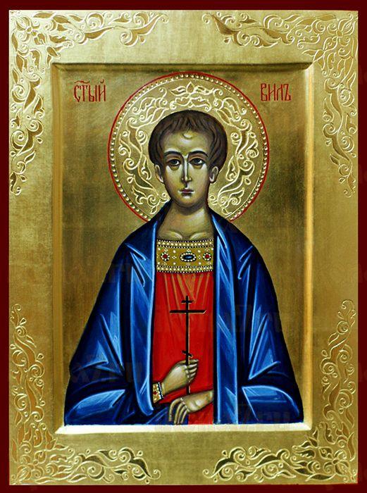 Вил Сирийский (рукописная икона)