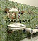 CV20002 Мозаика Mos.Polished Verde Jade 50х50, 305х305х10 мм (Colori Viva)