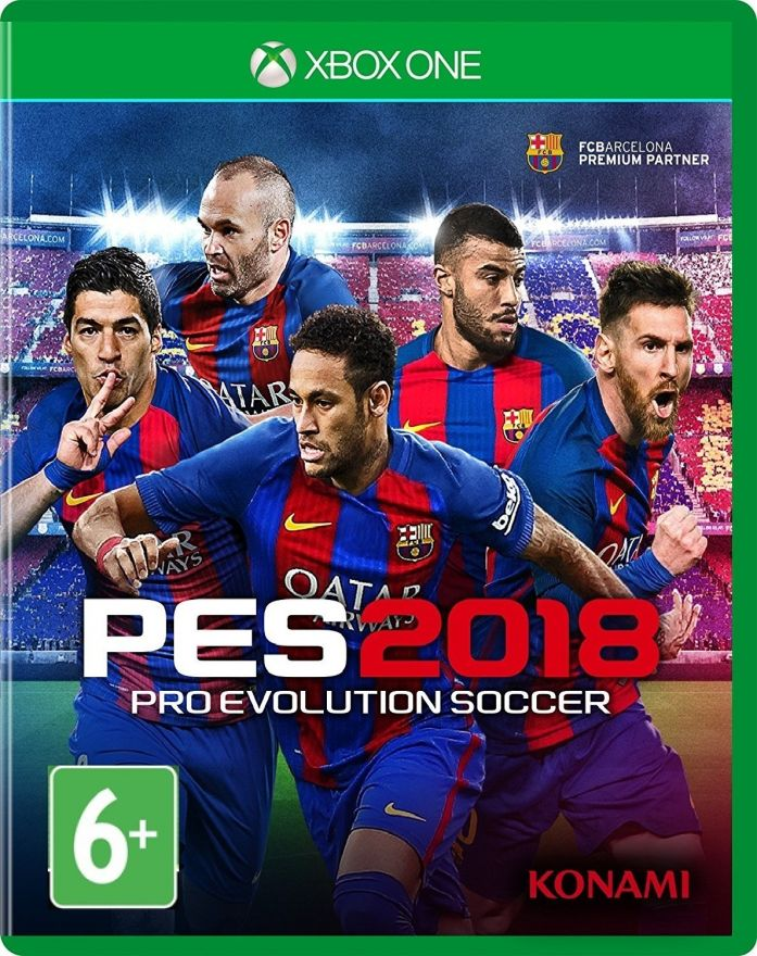 Игра Pro Evolution Soccer 2018 (Xbox One) PES 2018