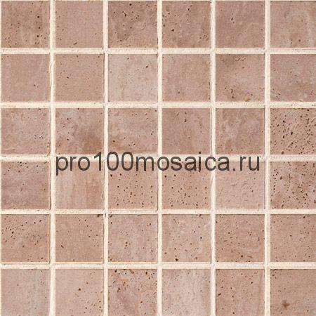 CV20144 Мозаика  Mos.Turkish Travertine Tumbled+Sealed 50х50, 305х305х10 мм (Colori Viva)