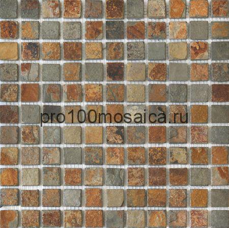 CV20018 Мозаика Mos.Nat.China Rusty 25х25, 305х305х10 мм (Colori Viva)