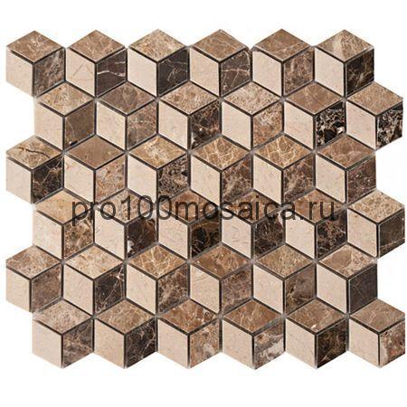 CV20140  Мозаика Mos. Cubic Polished Mix, 305х305х10 мм (Colori Viva)