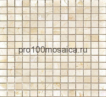 CV20087 Мозаика Mos.Polished Crema Marfil 20х20, 305х305х10 мм (Colori Viva)