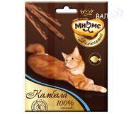 Мнямс Деликатес Лакомые палочки для кошек с камбалой (3*4 г)