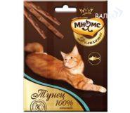 Мнямс Деликатес Лакомые палочки для кошек с тунцом (3*4 г)