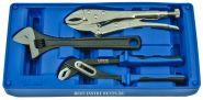 ACK-B3012 Набор ручные тиски, переставные клещи, разводной ключ Licota, в ложементе-кейсе