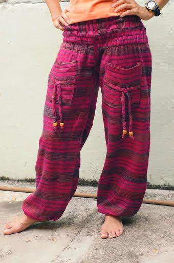 Уютные теплые шаровары (отправка из Индии)