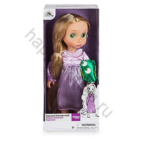 Игрушка кукла Рапунцель в детстве Дисней