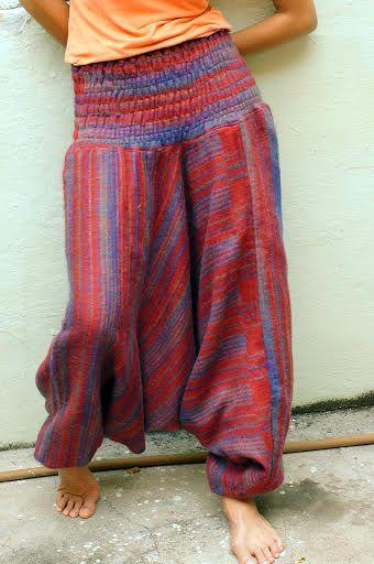 НЕТ В НАЛИЧИИ Зимние тёплые штаны алладины (темно-красные)
