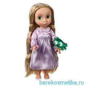 Кукла рапунцель в детстве с хамелионом. Дисней
