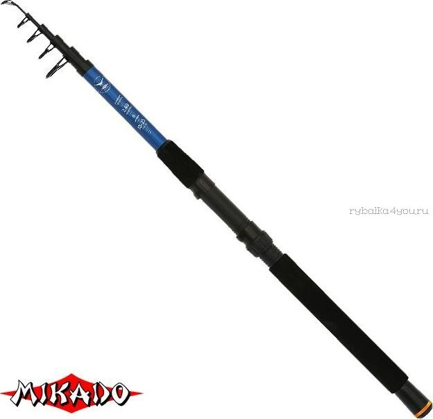 Спиннинг телескопический Mikado Fish Hunter Telespin 270см / тест: 10-30 гр