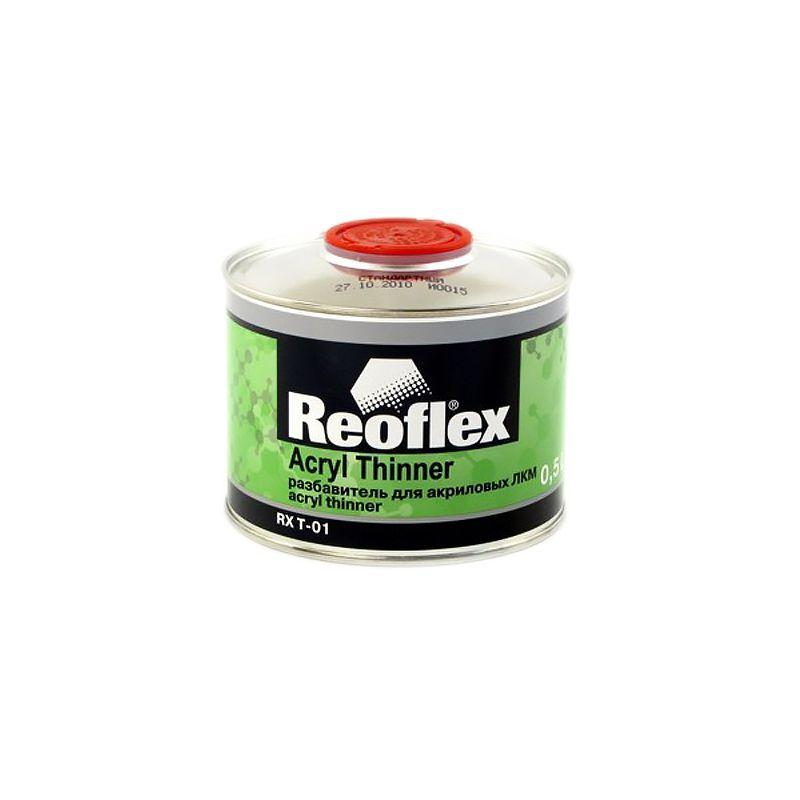 Reoflex Разбавитель стандартный для акриловых ЛКМ REOFLEX, 500мл.