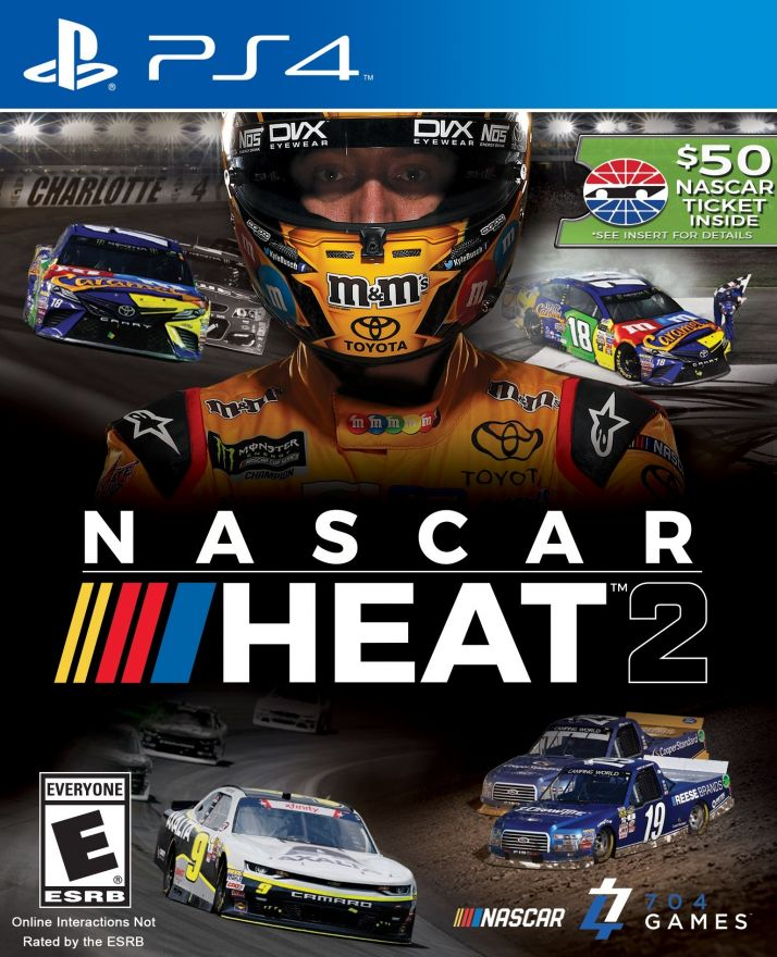 Игра Nascar Heat 2 (PS4)