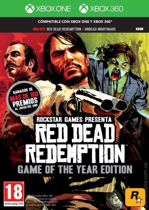 Игра Red Dead Redemption Game of the Year Edition (Xbox 360,Xbox One)