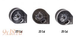 """Магазин - барабан калибра 6,35 мм - .25"""" для пневматических винтовок и пистолетов """"KRAL"""", 10 зарядов"""